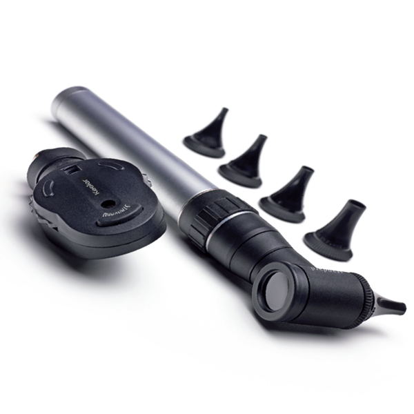 Keeler Standard Ophthalmoscope Head and Standard Head and Handle Otoscope Plus Specula