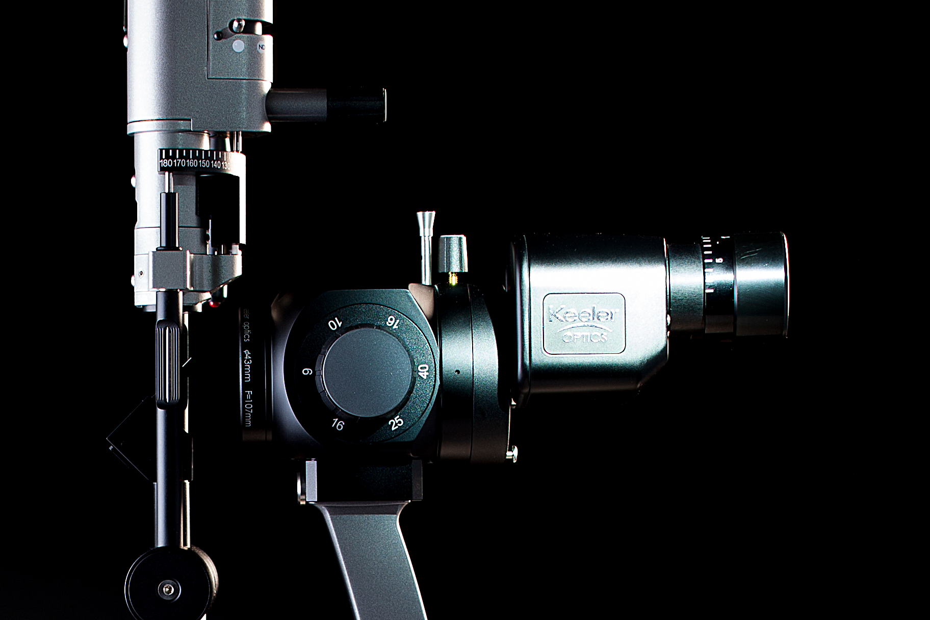 Keeler Symphony K Series Slit Lamp Side View