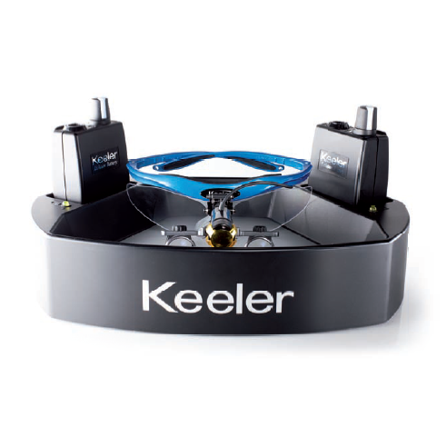 Keeler Loupe Light In Twin Charger Tray