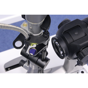 Top View of The Keeler Symphony Q Series Digital Slit Lamp