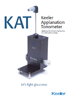 Keeler-KAT-Contact-Applanation-Tonometer-Brochure