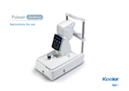 Keeler-Pulsair-Desktop-Non-Contact-Tonometer-Instructions-of-Use