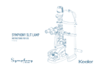 Keeler Symphony H Series Slit Lamp Instructions For Use