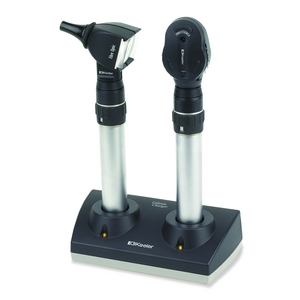 Keeler Fibre Optic Otoscope and Practitioner Ophthalmoscope Diagnostic Desk Set
